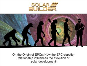 RPCS solar builder