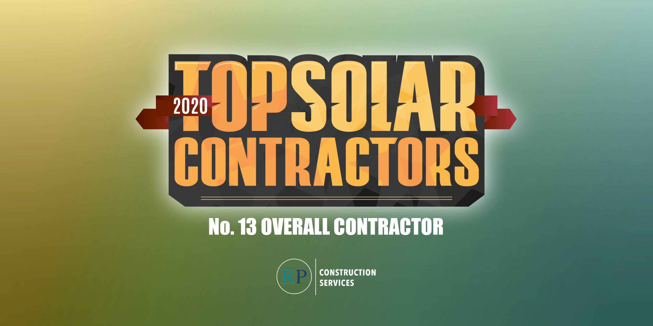 RPCS Ranks No. 13 on 2020 Top Solar Contractors List