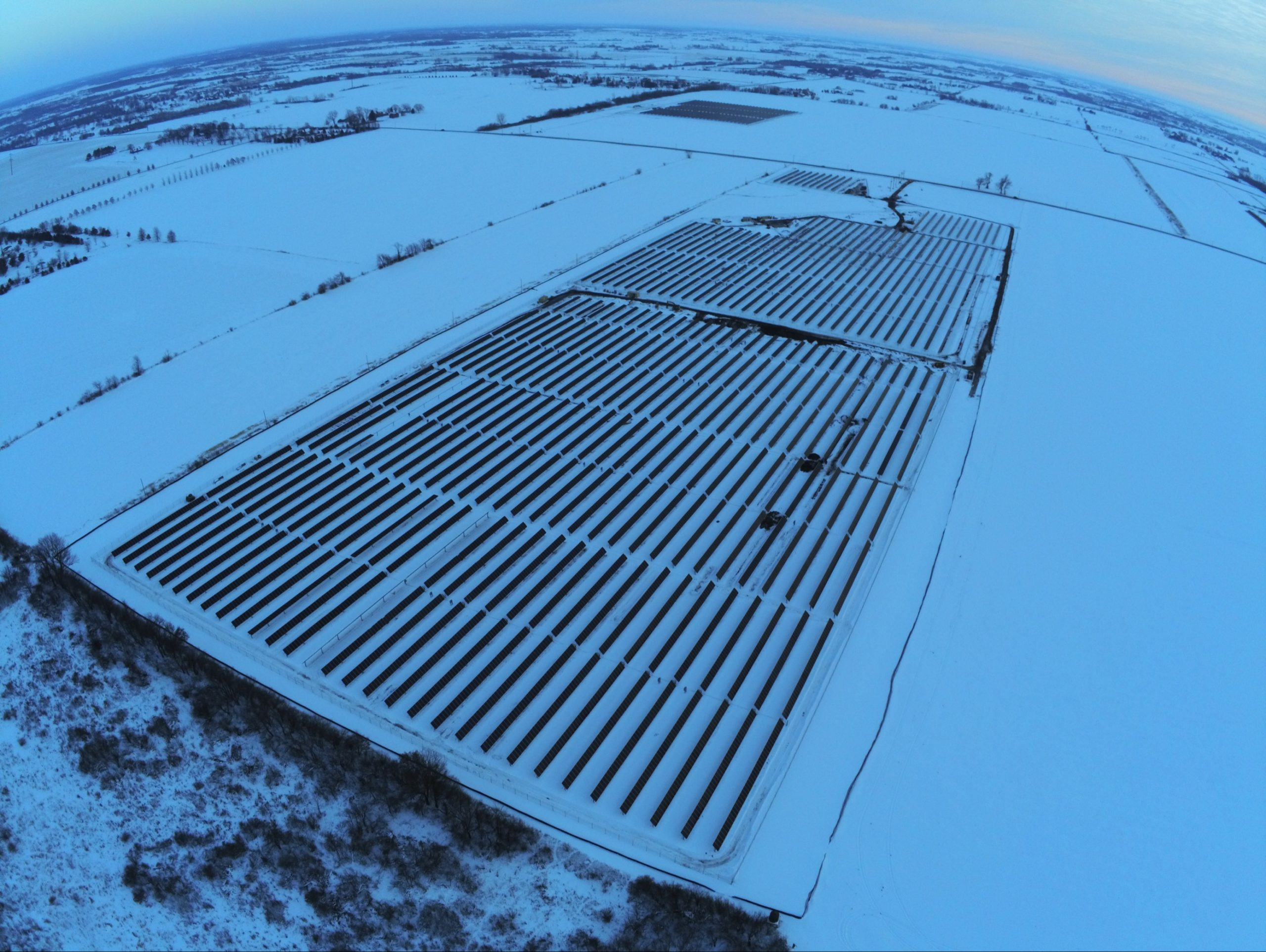 SOLAR TRACKERS + SNOW: Array Technologies' Innovative 'Snow Mode' and Structural Design Approach to Snow Loads